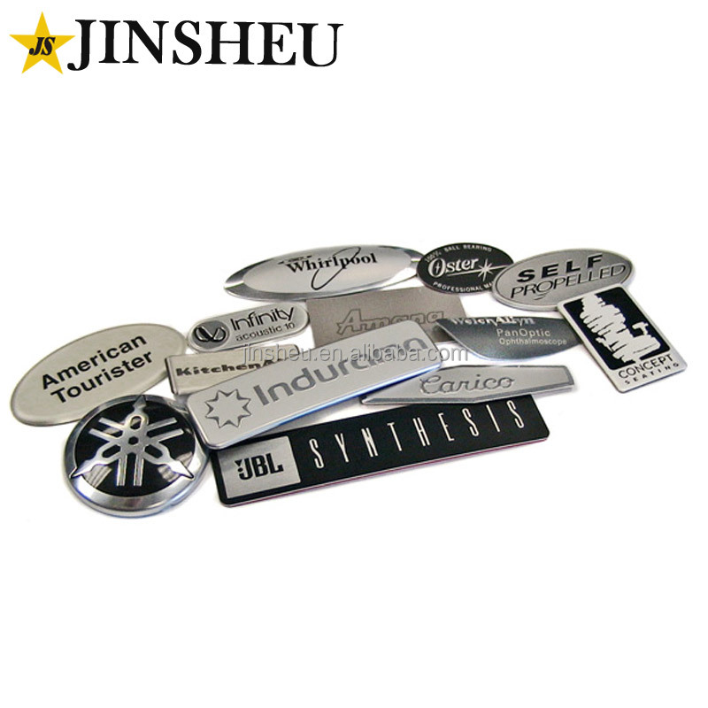 Wholesale garment accessories cheap clothing metal labels and tags
