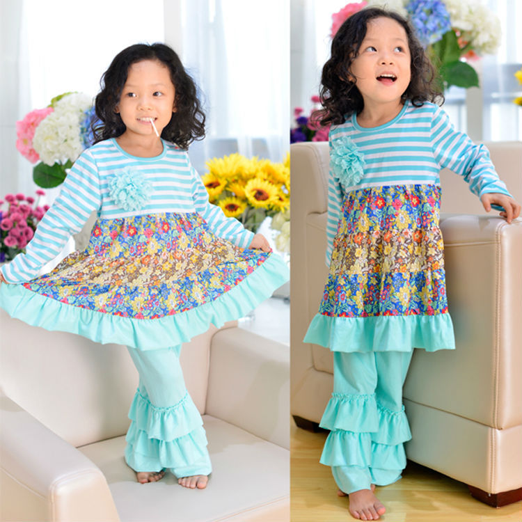 2015 Vintage Baby Wholesale Boutique Clothing Baby Girl