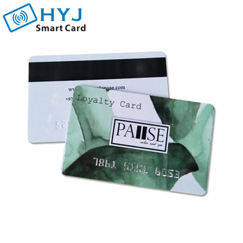 Printing Plastic Magnetic Stripe Card Maker with serial number