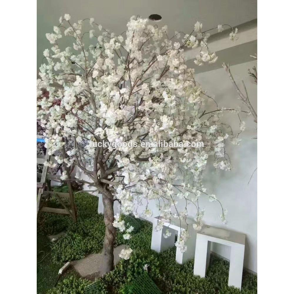 Pj508 Event Banquet Artificial White Cherry Blossom Trees For Sale Buy Cherry Blossom Trees For Sale Silk Cherry Blossom Trees Fake Cherry Blossom Tree Product On Alibaba Com
