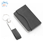 Corporate Gift Corporate Gift Set Promotional Corporate Giveaway Items Wallet Purse Leather Keychain Gift Set
