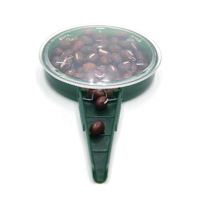 El Material Pl/ástico Es Una Maceta Peque/ña Adecuada para Muchos Tipos De Suministros De Semillas Sembradora De Flores De Mano para Jard/ín LQKYWNA Dispensador De Sembradora De Semillas