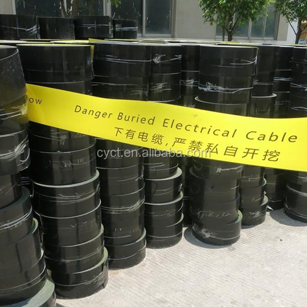 Сигнальная лента для подземного кабеля, Китай