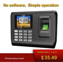 No software USB download data Mini Fingerprint time attendance system Biometric Fingerprint Time Clock Recorder