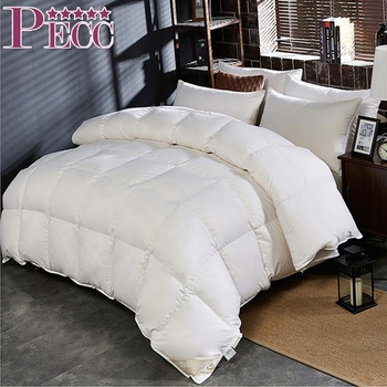 China Manufacturer Natural Comfort Down Feather Filled Comforter Duvet Goose