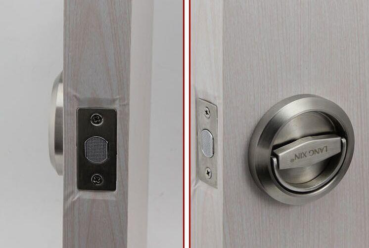 Free shipping mechanical 304 stainless steel luxury door - How to open a locked bathroom door ...