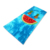 100% cotton velour vivid picture design custom printed beach towel