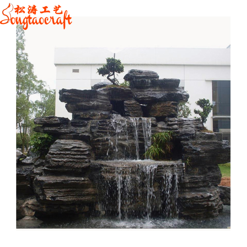 Chinese Garden Decorations Wholesale Outdoor Rock Stone Water Watfall Buddha Fountains Pens With Pump Waterfall For Home Garden View Waterfall Buddha Fountain Songtao Product Details From Guangzhou Songtao Artificial Tree Co Ltd