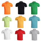 Custom 200g short sleeve AB cotton printing blank polo t shirt