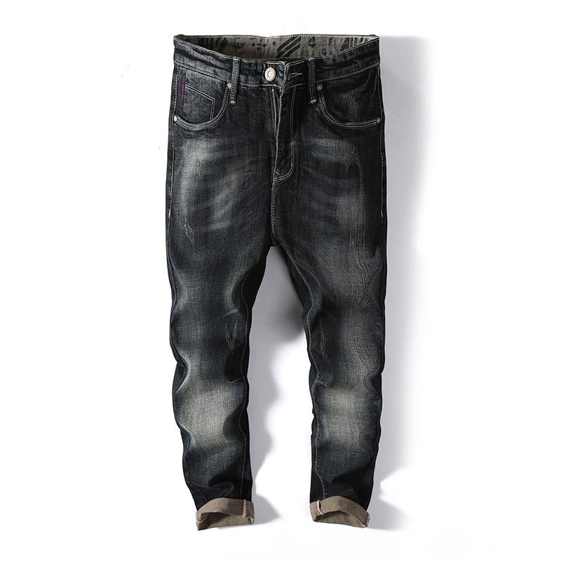 Pantalones Vaqueros De Alta Gama Para Hombre Diseno Moderno Holgados Con Cremallera Buy Pantalones Vaqueros Para Hombre Pantalones Vaqueros Sueltos Para Hombre Pantalones Vaqueros Baratos Para Hombre Product On Alibaba Com