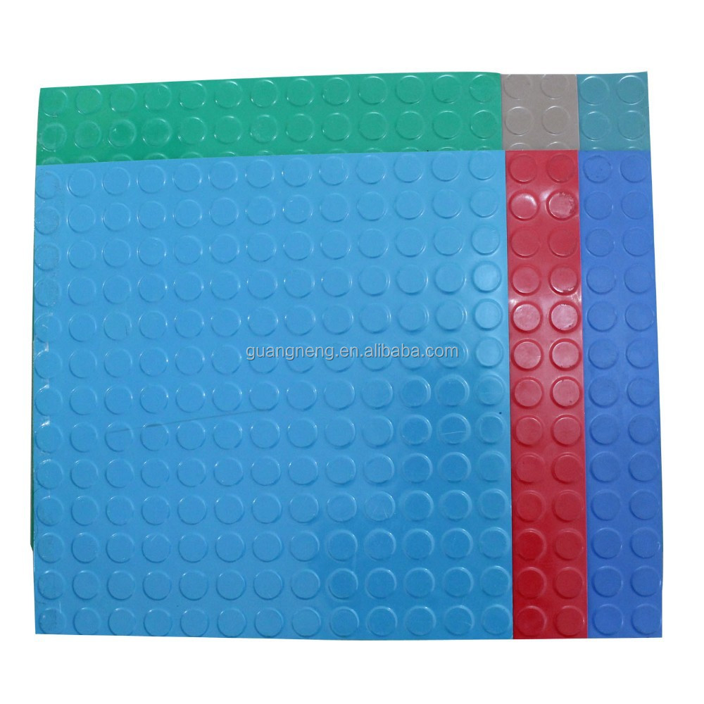 Colorful Coin Rubber Mat Roll For