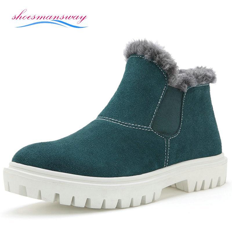 Winter Boots Canada Men Discount Boots With Fur Mens