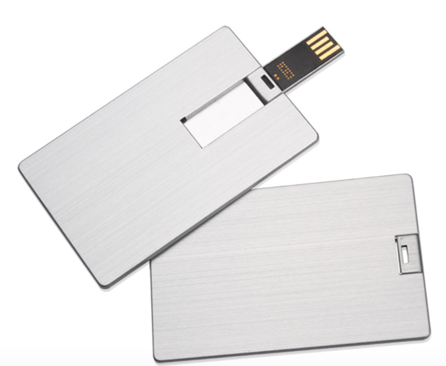 Wholesale Metal Credit Card Usb Square High Speed Promotional Gift with Laser engraving LOGO Memoria Flash Disk - USBSKY | USBSKY.NET