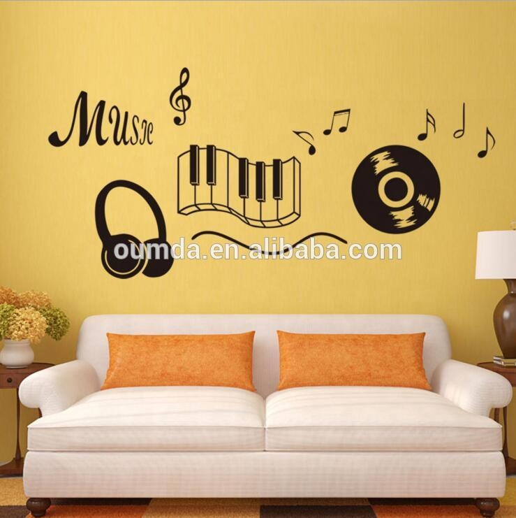 Music Notes Piano Musical Removable Wall Stickers Decals Vinyl Home Diy Decor Buy Music Themed Home Decor Removable Wall Stickers Home Decor Musical Decorative Stickers Product On Alibaba Com