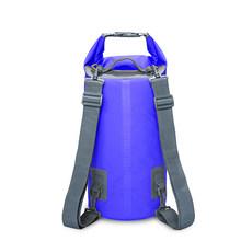 15L 20L открытый речной треккинг Сумка двойной плечевой ремень для плавания водонепроницаемые сумки рюкзак сухие органайзеры для дрифтинга к...(Китай)