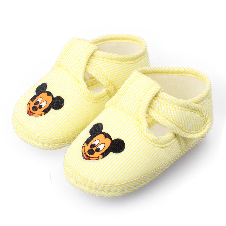 baby shoes Soft Sole toddler shoes yellow
