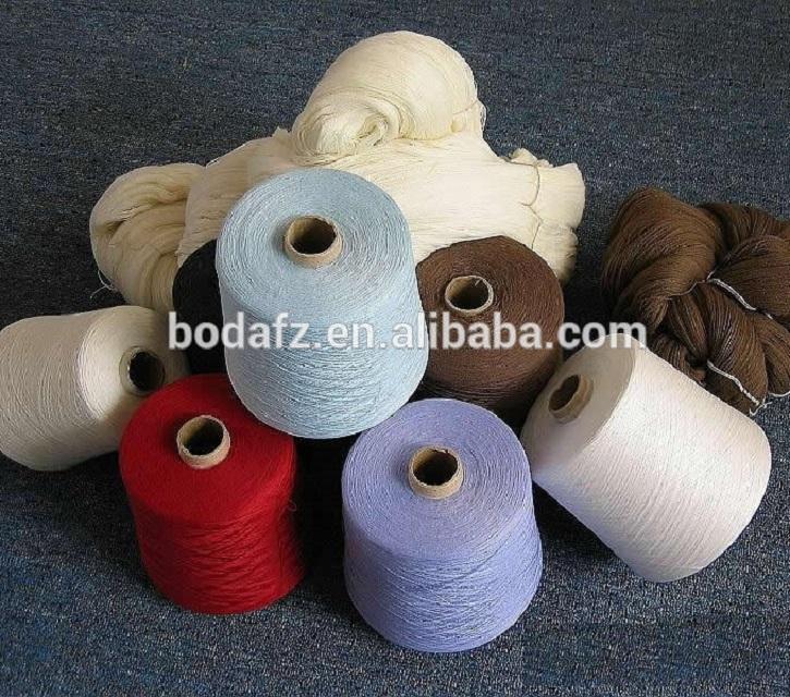 Высокое качество Заводская Распродажа 100% Полиэстеровая териленовая пряжа 50/2 50/3 из комбинированного волокна с узором