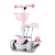 New 3 in 1 kids scooter  Multi-functional Lean to steer Kick Mini seated Scooter with flashing 3 wheel kids scooter