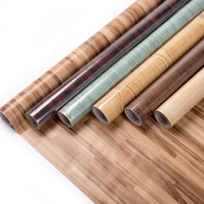 Wood Grain Self Adhesive Vinyl Film Rolls Kitchen Cabinet Self Adhesive Pvc Foil View Wood Grain Self Adhesive Ever Bright Product Details From Ever Bright Industrial Products Co Ltd On Alibaba Com