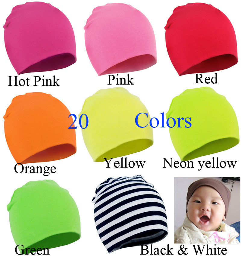 00d531fbecd 2015 New Unisex Newborn Baby Boy Girl Toddler Infant Cotton Soft Cute Hat  Cap Beanie 20 Color