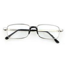 Высококачественные классические очки для чтения, соединенные носовые упоры, металлическая оправа, унисекс диоптрий 1,0-4,0 дюйма, Чехол для оч...(Китай)