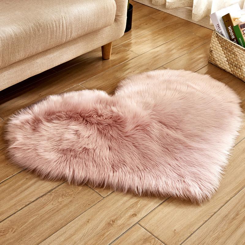 Long Wool Carpet Living Room Carpet Bedroom Rug Love Heart Shape Rugs Super Soft Faux Sheepskin Area Rug Buy Faux Sheepskin Area Rug Faux Sheepskin Rug Heart Rug Product On Alibaba Com