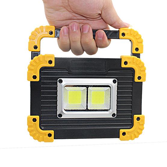 50W Portable Spotlight Solarlicht Led Arbeitslicht USB Wiederaufladbare Tas F9R8