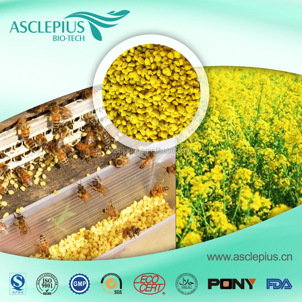 Высококачественная Органическая свежая 100% натуральная изнасиловая пчелиная пыльца