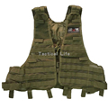 New Arrival Tactical Vest Outdoor Hiking Training Fishing Molle Hunting Vest For Military Army Airsoft War
