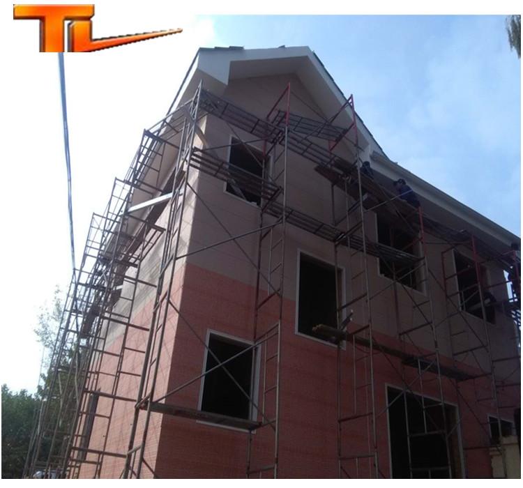 Роскошный светлый стальной жилой дом сборная вилла