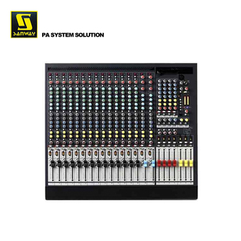 GL2400-416 Professional USB Audio DJ Mixer Mixer for Amplifier