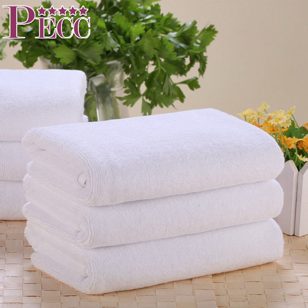 Hot Sale White Hotel Bath Body 100% Cotton Towel Set