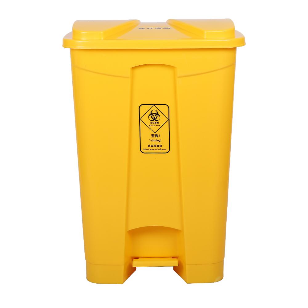 80Liter plastic medical foot pedal waste bin