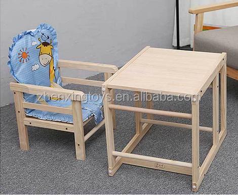 Детский деревянный обеденный стул burливуд