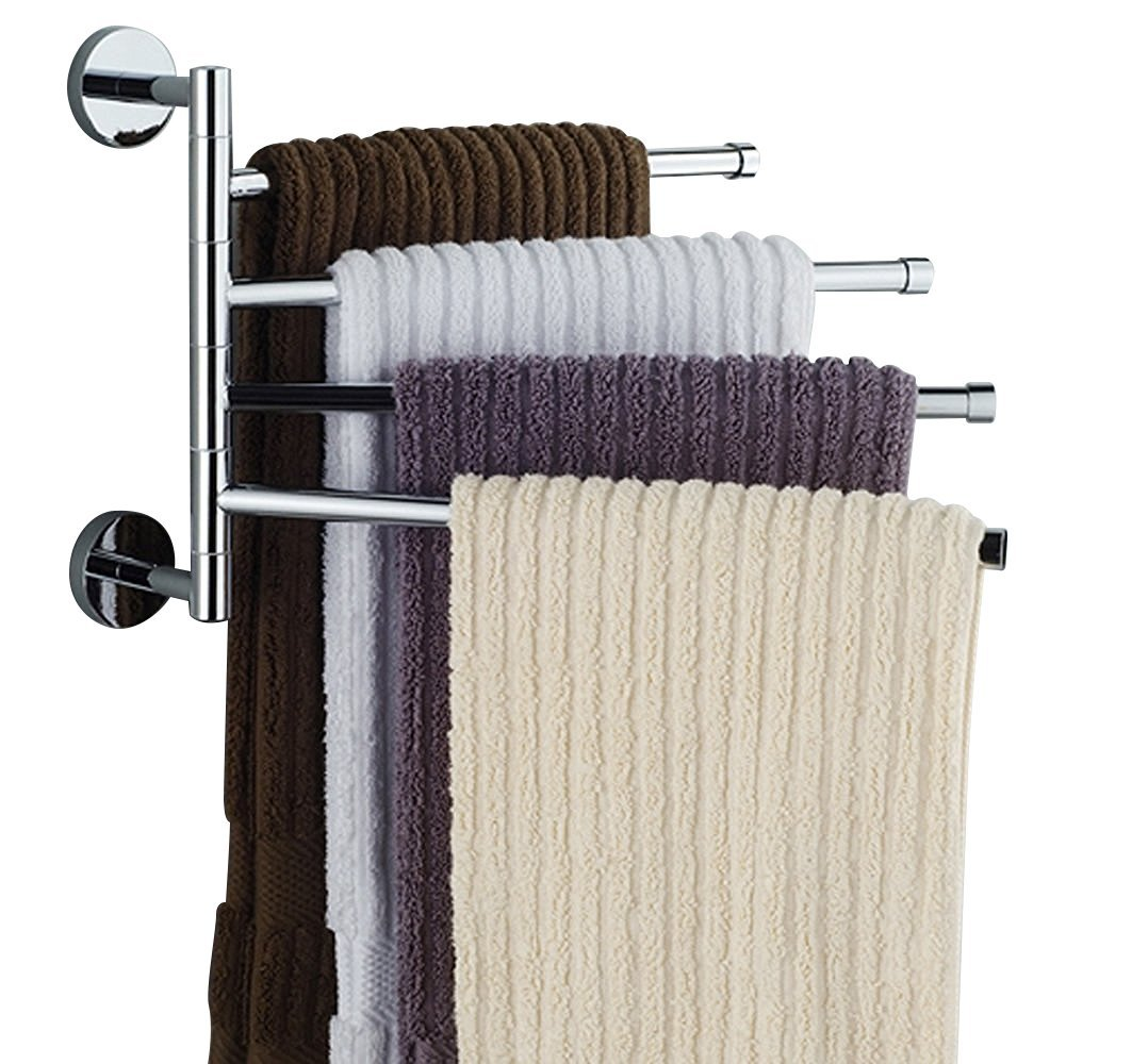 Towel Organizer Quality Bar Directly From China Hanger Suppliers Wall Mounted Stainless Steel Swivel Bars Bathroom Rack