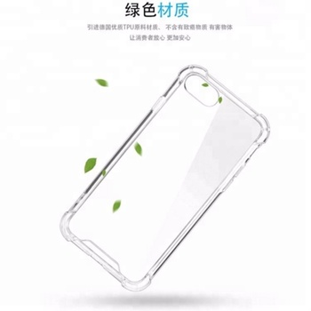 1.0 mm High quality TPU cell phone case replacement for iphone 6 plus case