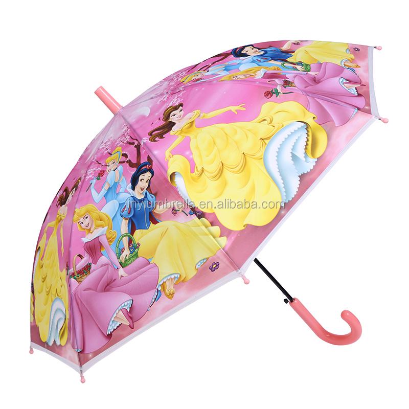 Kids Pink Color Cartoon Princess Printing Straight Rain Umbrella For Children Buy Small Umbrella For Kids Kids Animal Print Umbrella Cheap Custom Print Umbrella Product On Alibaba Com