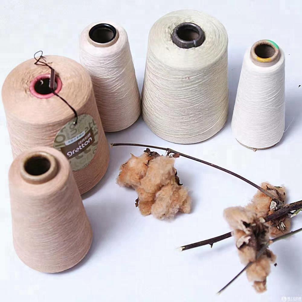 China natural bamboo fiber spun yarn, for knitting and weaving