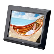 Electronic Digital Frame 8″ HD Full-view TFT-LCD Digital Photo Frame 800*600 With Alarm Clock Calendar MP3 MP4 Movie Player