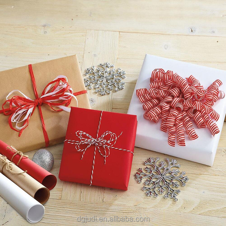 with high quality waterproof gift wrapping paper to christmas rolling papers