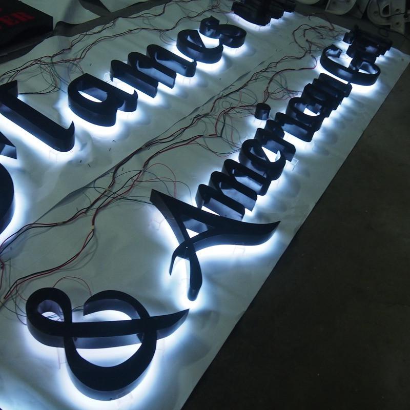 Наружная реклама, светодиодные знаки для ресторана, светодиодные наружные знаки для ресторана  <span style=
