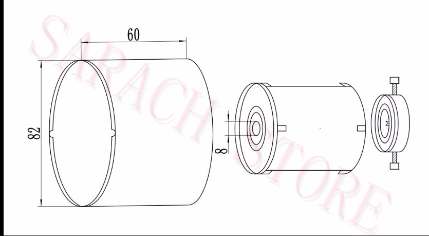 100w 36v Electric Scooter Wheel Hub Motor Electric