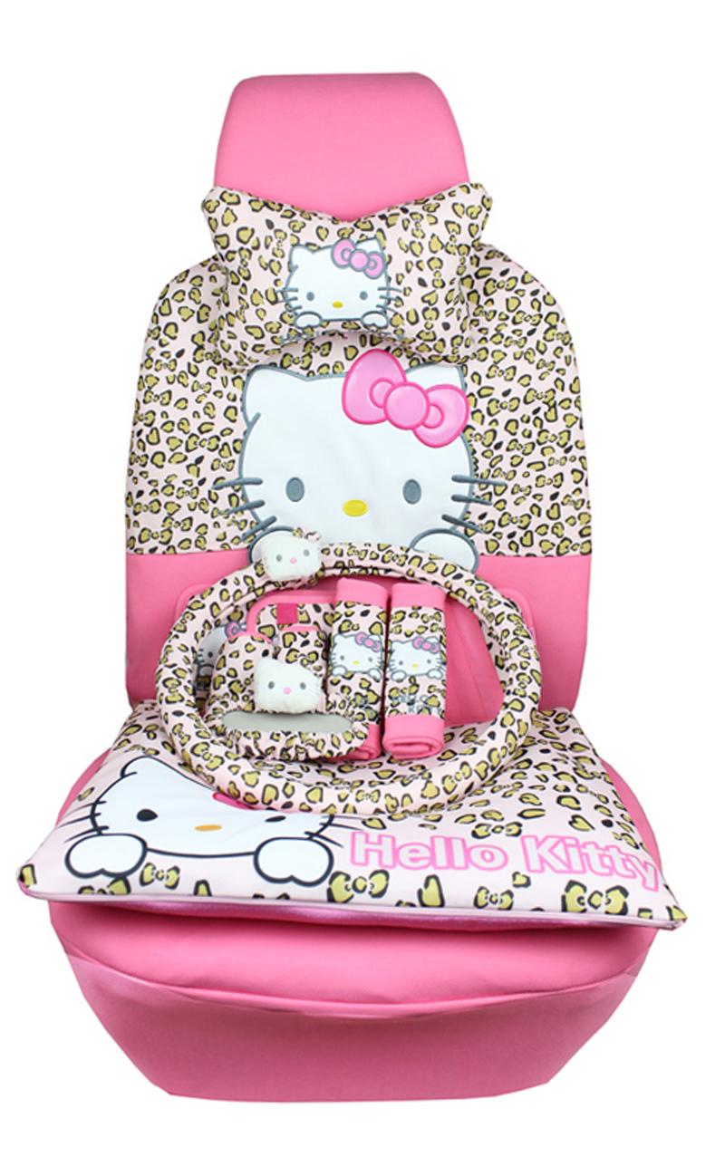 Buy new 22pcs car covers cartoon - Hello kitty car interior accessories ...