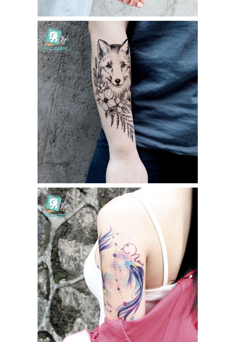 2b0e3ccd8 21 X 15CM Temporary Tattoo Sticker Waterproof Colored Tattoos - Free ...