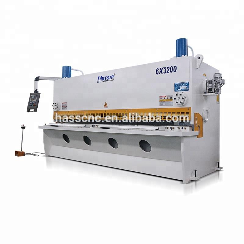 Hydraulic CNC guillotine shearing machine Metal Cutting Machine