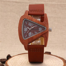 Мужские и женские наручные часы из натуральной воловьей кожи с ремешком, Роскошные мужские часы от топового бренда Sandalwood, мужские и женские ...(Китай)