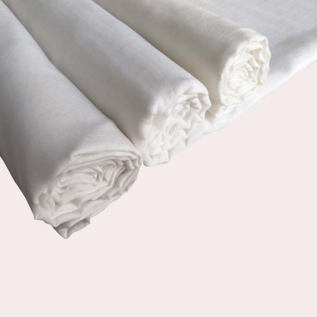 hot sale 100%cotton plain white calico fabric