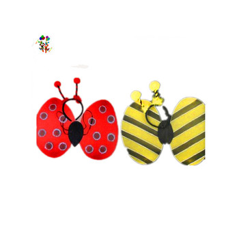 Deeley Bopper Ladybird Bumble Bee Fancy Dress Girls Wings Set HPC-0814
