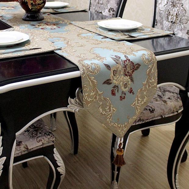 Aliexpress.com : Buy European Modern Jacquard Table Runner