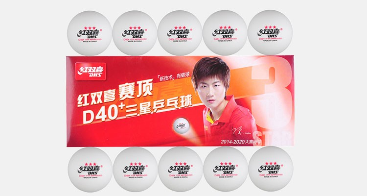 Professional Play Word T.T Championship Use 3 Star Seamed Table Tennis Ball